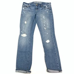 American Eagle Outfitters Distress Skinny 77 Jeans